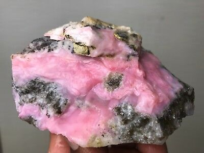 New!!! Top Quality Gem Pink Opal Rough - .5 Lbs - From Peru