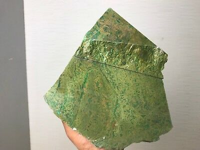 Huge 10.5 Lbs Solid  Nephrite Jade Rough  - From Canada Top Aaa Quality