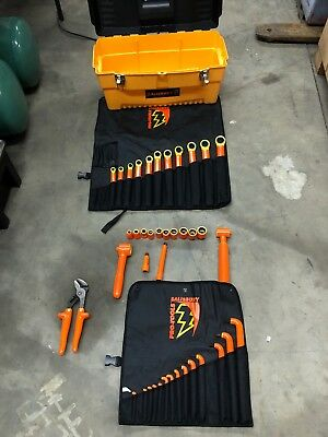 Briefly Used SALISBURY PRO-TOOLS  INSULATED TOOL SET