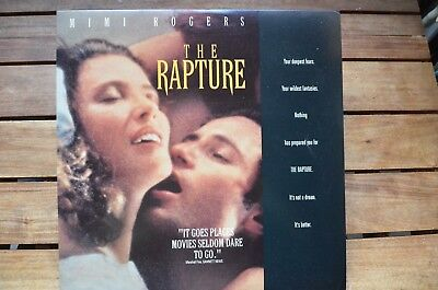 THE RAPTURE Mimi Rogers D.Duchovny NEW LaserDisc FREE Post mmoetwil@hotmail.com
