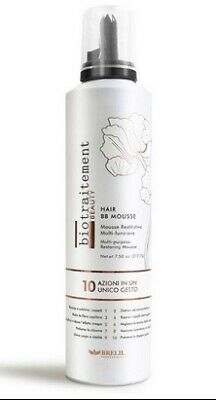 HAIR BB MOUSSE BIO TRAITEMENT BEAUTY 250 ml - BRELIL