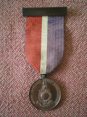 WW1 to 1920s Royal Marines Rifle Association Bronze Medal by W&H