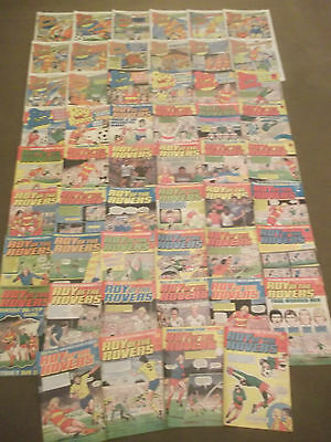 52 x ROY OF THE ROVERS from 1985 - Complete Year