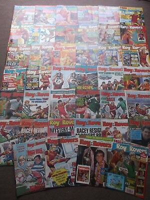 52 x ROY OF THE ROVERS from 1990 - Complete Year