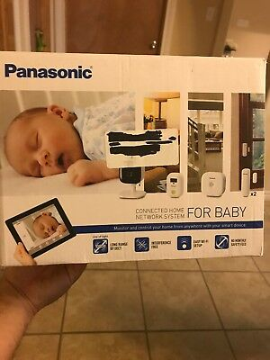 Panasonic KX-HN6022W Connected Home Baby Monitoring System all-in-one Kit White