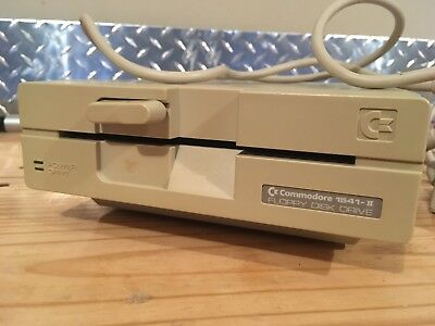 Commodore 1541-II Disk Drive - No Power Supply - As-is