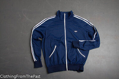VINTAGE Adidas Track Jacket Gr D8 US XL Warm Up Made in