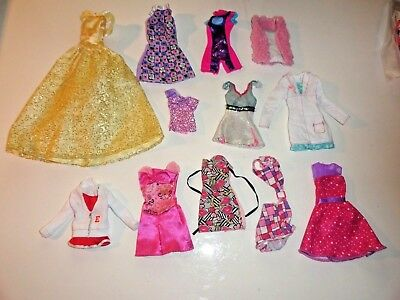 Barbie ~ Fashion Doll Mixed Lot Clothes ~  Sold As Is ~ Cheaper By The Dozen #7