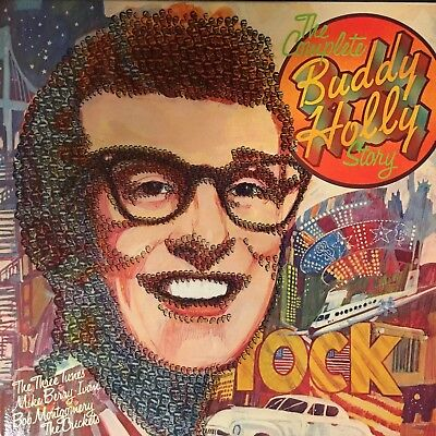 """Buddy Holly - """"The Complete Buddy Holly Story"""" NM  9LP Import used vinyl box set"""