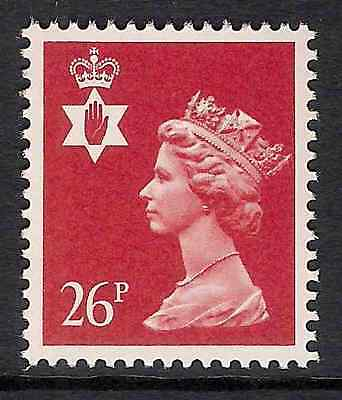Northern Ireland 1987 NI60a 26p litho phosphorised paper perf 15x14 type II MNH