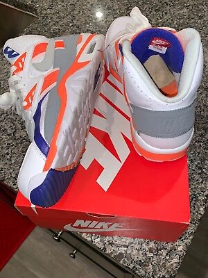 NIKE AIR TRAINER SC High QS Auburn Bo Jackson 302346-106 Size 13 ... fb139eecf