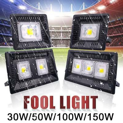 LED Flood light PIR Motion Sensor Outdoor Security Building Square Safelight