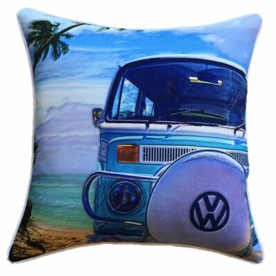 Outdoor Cushion Cover VW Kombi Van Combi Truck 45 x 45cm Square Pillow UV Fabric