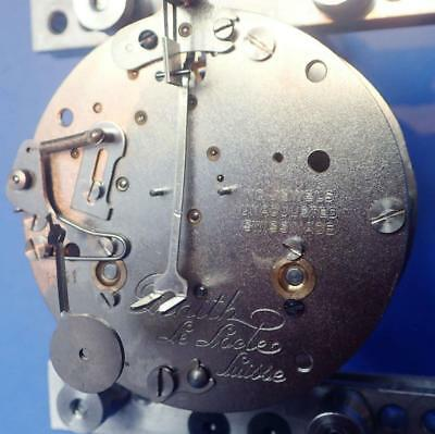 ZENITH Le Locle SUISSE 8-DAY TIME & STRIKE TANDEM WINDING CLOCK MOVEMENT 4 PARTS