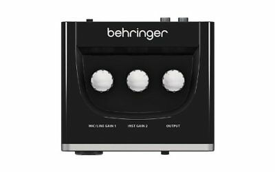 Behringer U-Phoria UM2 Audio Interface - NEW, OPEN BOX, GREAT DEAL, LIMITED TIME