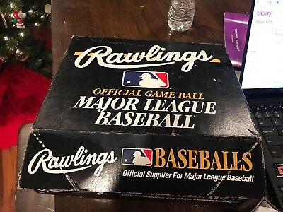 Lot of 9 Rawlings 2004 Major League Baseballs Authentic Bud Selig in Boxes Terry