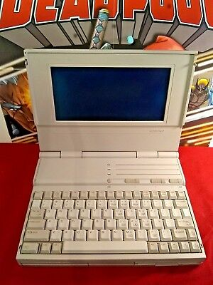 Vintage Compaq LTE 286 Notebook - Untested, No AC adapter, For Parts Or Repair