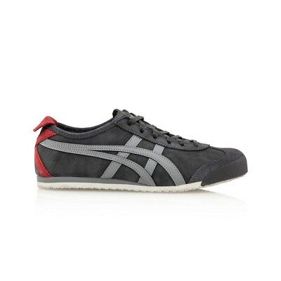 Onitsuka Tiger Mexico 66 Casual Shoes - Men's Women's Unisex - Dark Grey/Stone G