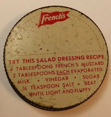 Vintage French Spread Lid 2 in.