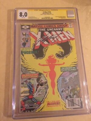 Uncanny X-Men 125-CGC 8.0! White pages. Phoenix! Movie coming! SS Claremont