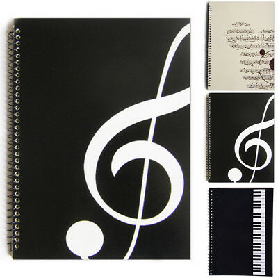Blank Sheet Music Composition Manuscript Notebook Paper Staff/Book A4 50Pages R1