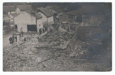 Early 1900s RPPC - After theFire - Ruins - Mid-Michigan??