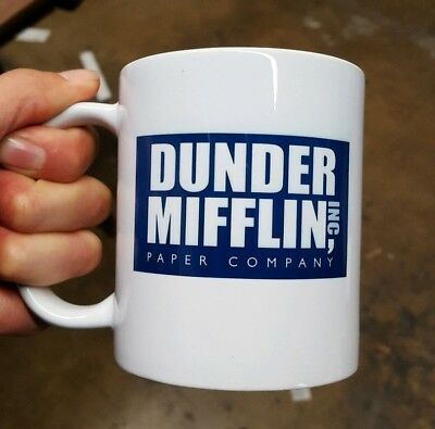 New Dunder Mifflin Worlds Best Boss Dishwasher Safe Coffee Mug Gift The Office
