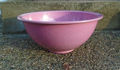 TEXAS WARE Melmac Mixing BOWL Pink Pinky Mauve Splatter Confetti 125 mid century