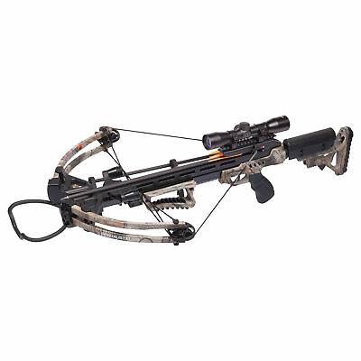 Crossbow Arrows Hunting Archery Compound Package Scope Bolts Camo AXCSP185CK New
