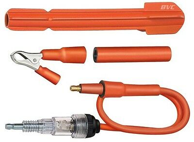 Deluxe Spark Tester Set - In-line Spark Plug Checker Kit - S&G Tool Aid 23970