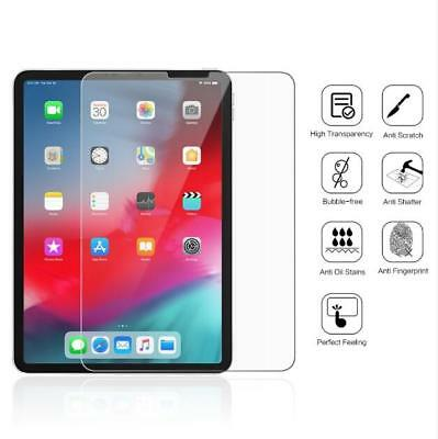 "For Apple iPad Pro 11"" 12.9"" 2018 Premium Tempered Glass Screen Protector Film"