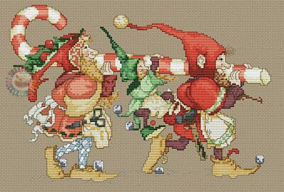 Special Delivery cross stitch chart Digital Format