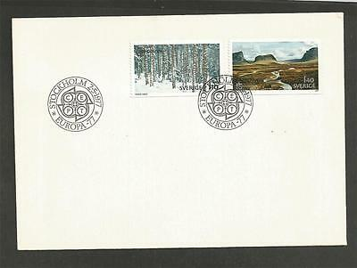 SWEDEN - 1977 EUROPA Stamps    - FIRST DAY COVER