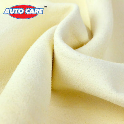 "12x20"" US Natural Leather Chamois Car Cleaning Cloth Wash Absorbent Drying Towel"