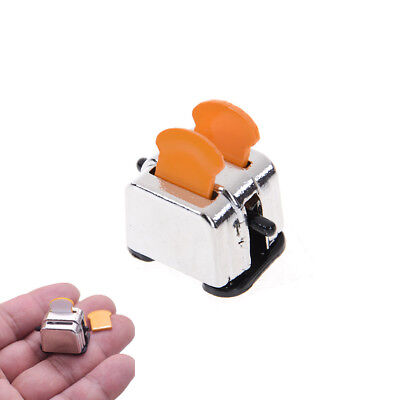 New 1/12 Dollhouse Miniature Decoration Bread Maker with 2 Piece Bread JF