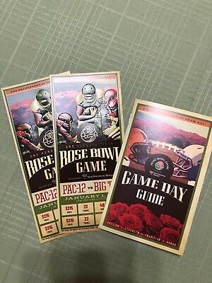 2019 Rose Bowl Game (2 Tickets), Ohio State vs. Washington