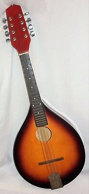 From Estate Vintage ? 8 String Mandolin Musical Instrument Wood Finish and ...