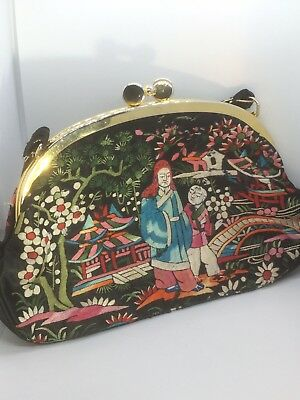 Vintage Chinese Hand Embroidery Purse 28 00 Picclick