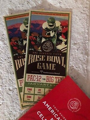 2019 Rose Bowl Game (2 Tickets), Ohio State Buckeyes vs. Washington Huskies
