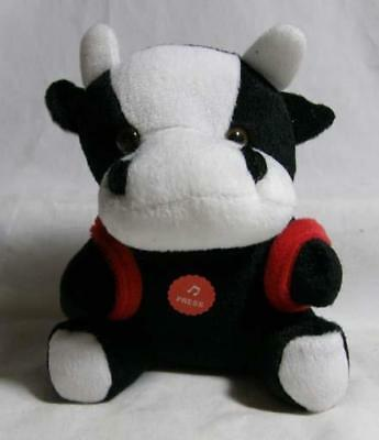 Barcelona Spain Plush Bull with Backpack - He Moos