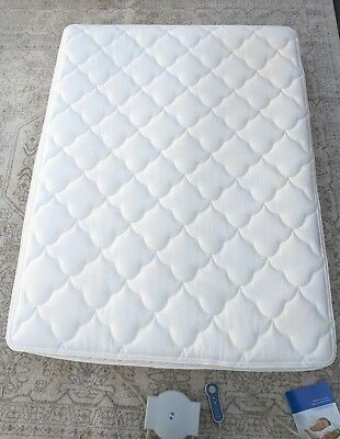 Sleep Number Queen 5000 Special Edition bed complete mattress w pump p5 dual air