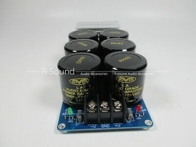 HPOO single power supply rectifier filter assembled NOVER 10000UF 50V for audio