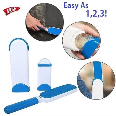 Remover Brush For Pet Fur Wizard Self-Cleaning Base Reusable On Clothes Fabric