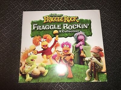 FRAGGLE ROCK Rockin' rare oop 3 cd set 57 songs! 2007 Koch Jim Henson Muppets