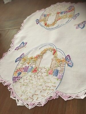 Old Embroidered Doilie