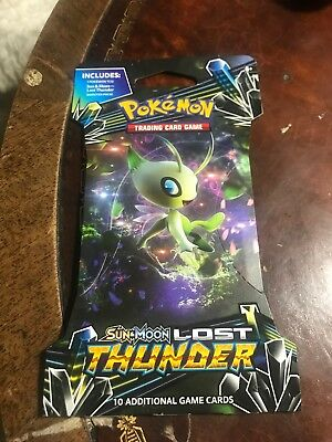 POKEMON Sun & Moon Lost Thunder Booster Packs Loose Packs 50 Total!! 50 Packs!!
