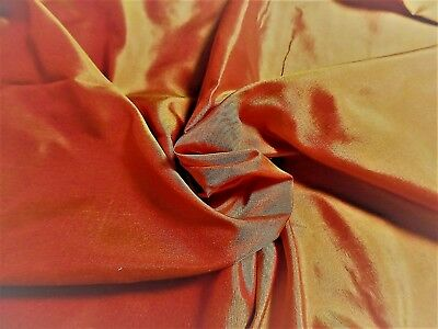 "NEW COLOR! GOLDEN SUNSET SILK TISSUE TAFFETA~9""x22""~ GREAT FOR NEW 8"" FF  DOLLS!"
