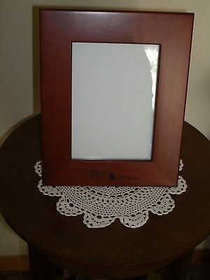 """New Precious Moments Wood Picture Frame """" Cruise Gift 2007 """""""