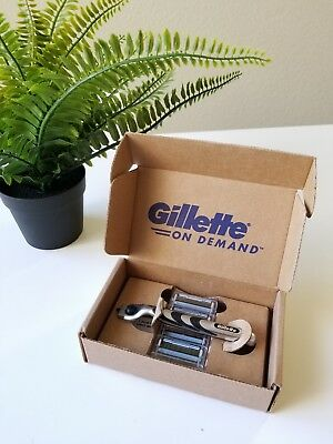 Gillette On Demand Kit Razor 4 Blades