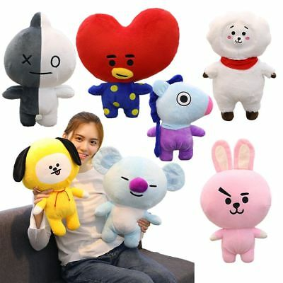 25/35/45cm Bangtan Boys BTS Bt21 Plush Toy Stuffed  Pillow Cushion Kid Plushie